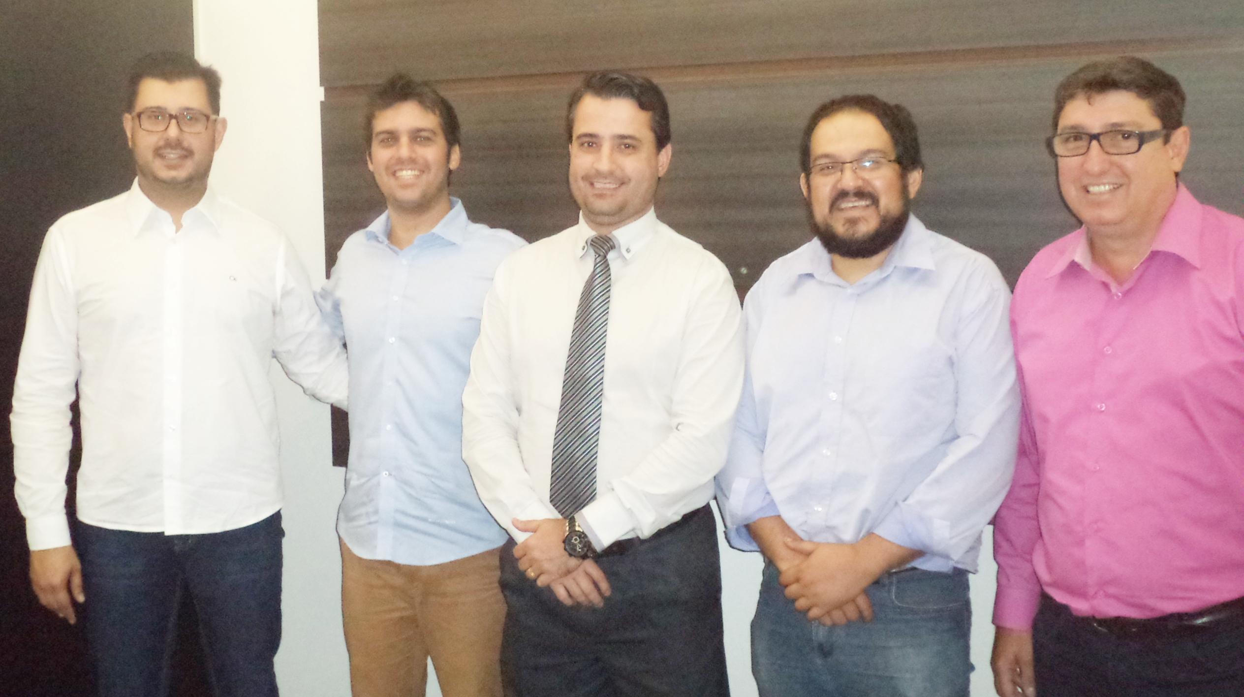 Vereadores Dr. Rodolfo, Lucas Casella, Jonas Chamarelli e Alexandre Gil migram para o PSD