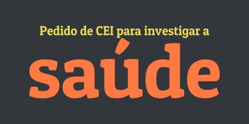 Vereador propõe criação de CEI para investigar saúde no município