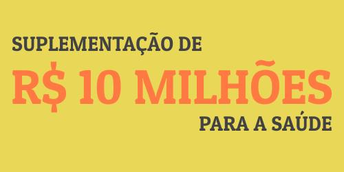 Com excesso de arrecadação, Câmara aprova suplementação de R$ 10 mi para a saúde