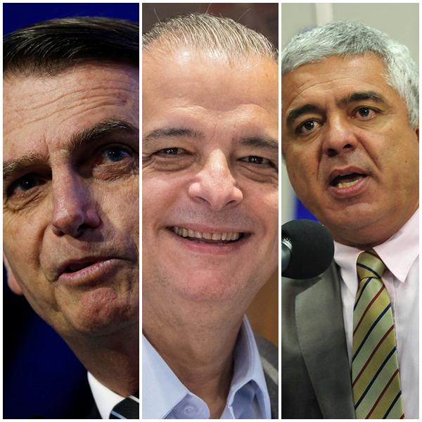 Jair Bolsonaro, Márcio França e Major Olímpio são os mais votados de Penápolis